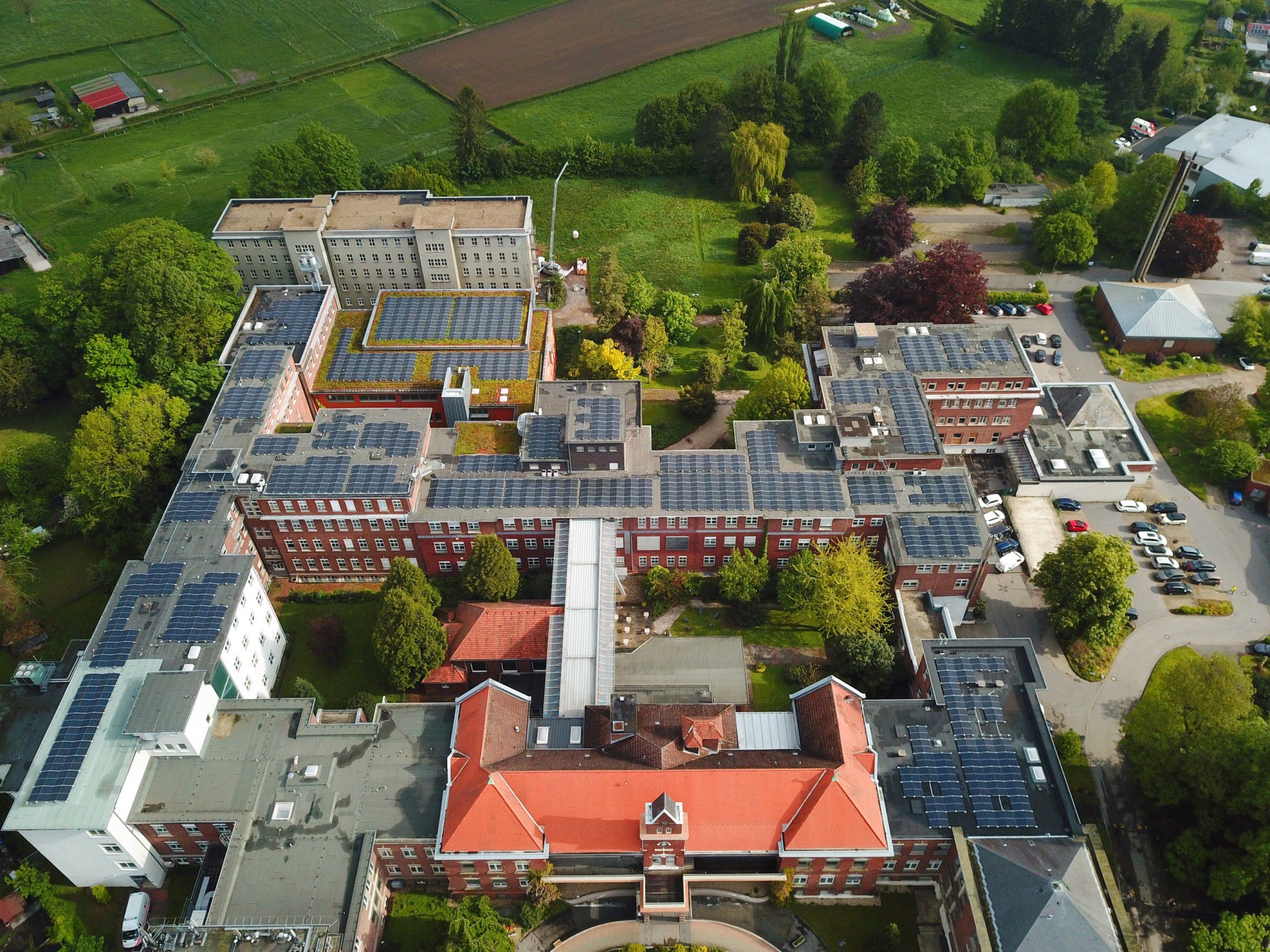 Drohnenbild | VIALIFE Campus Bardenberg